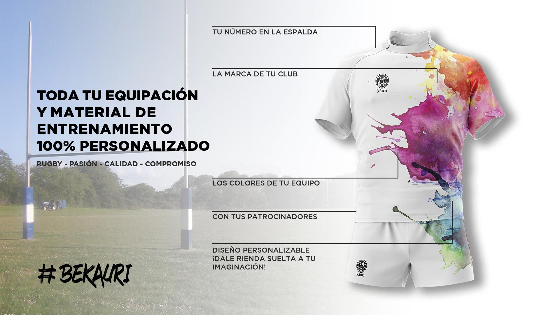 ca9f12de9 Diseña tu equipación - Kauri Sport